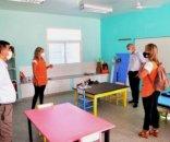 Bella Vista: Chavez en una escuela rural en el primer día de clases
