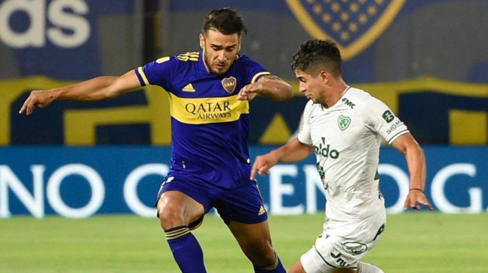 Boca empató 1-1 con el recién ascendido Sarmiento de Junín