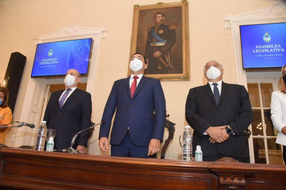 Canteros destacó los 20 años de estabilidad institucional y paz social