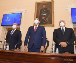 foto: Canteros destacó los 20 años de estabilidad institucional y paz social