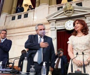 foto: Apertura de sesiones ordinarias 2021: el discurso completo de Alberto Fernández