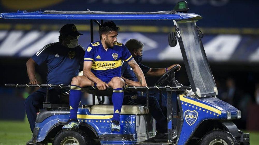 Salvio se rompió los ligamentos y Boca lo pierde por meses