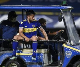 foto: Salvio se rompió los ligamentos y Boca lo pierde por meses