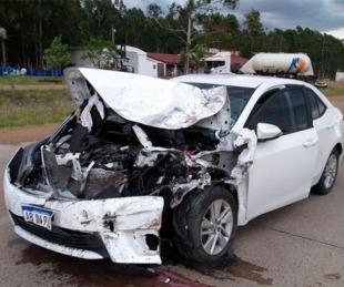 foto: Monte Caseros: un padre atropelló y mató a su hijo en un accidente