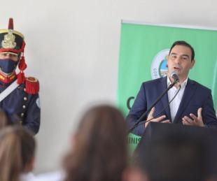 foto: Yapeyú: Valdés inauguró el nuevo edificio de una escuela secundaria
