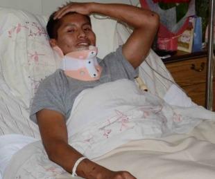foto: Es sobreviviente de Chapecoense, se accidentó en colectivo y se salvó