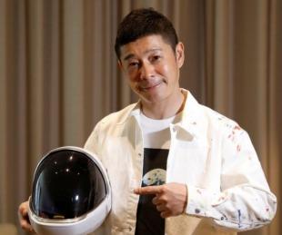 foto: Un magnate japonés busca a ocho personas para viajar a la luna