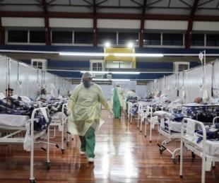 foto: Brasil: empieza a colapsar la terapia intensiva de San Pablo