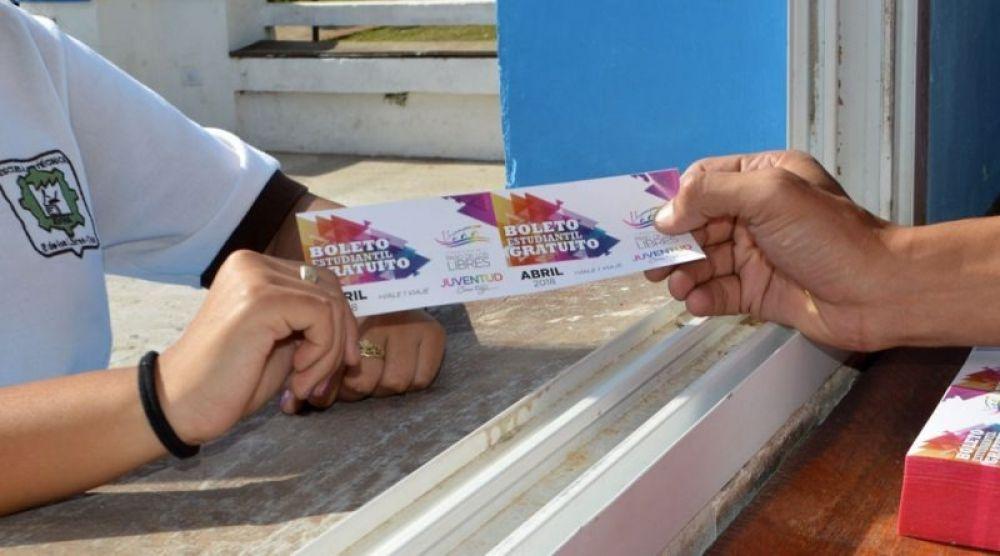 Paso de los Libres: entregarán 1.200.000 boletos gratuitos a estudiantes