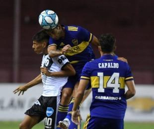 foto: Boca transpiró más de lo esperado para vencer a un duro Claypole