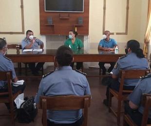 foto: Definieron la modalidad aplicación de dosis a efectivos policiales
