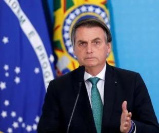 foto: Bolsonaro minimizó a la pandemia: