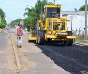 foto: Bella Vista: Avanza el plan de mejoramiento de calles