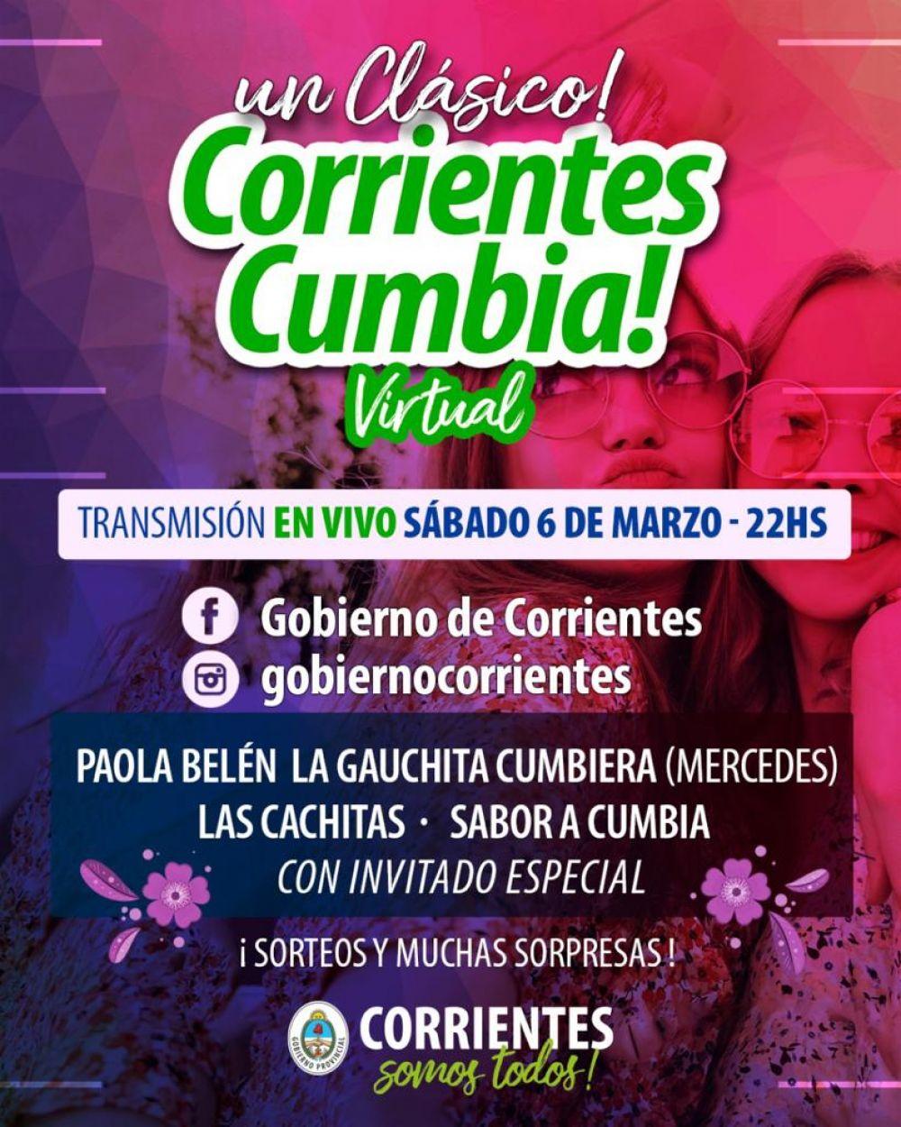 Corrientes Cumbia Virtual y el Teko Chamamé con interesantes propuestas
