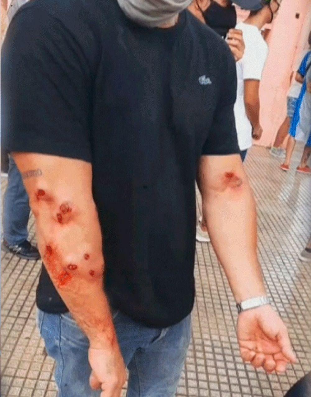 Incidentes en Formosa: Fue una reunión convocada por opositores