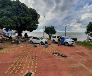 foto: Prefectura secuestró un cargamento de 620 kilos de marihuana