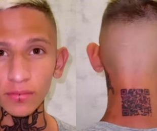 foto: No salió tal cual: se tatuó el código QR de su perfil de Instagram y le dio