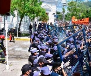 foto: La Iglesia repudió la represión en Formosa