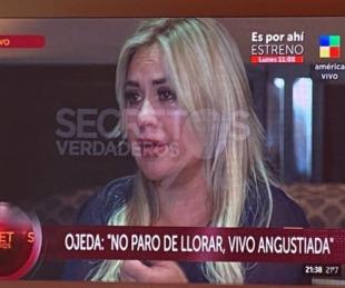 foto: Verónica Ojeda: embarazos y sospechas sobre la muerte del 10