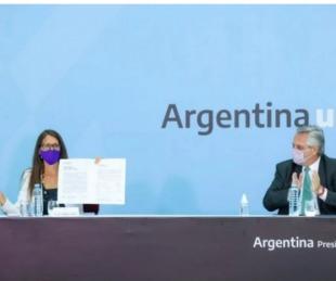 foto: Fernández llamó a poner fin