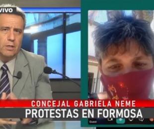 foto: Conflicto en Formosa: