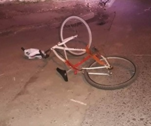 foto: Saladas: un ciclista murió luego de ser atropellado por un automóvil