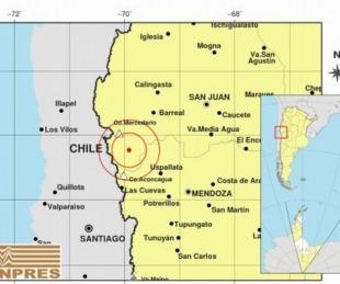 foto: Registraron un sismo de 5.2 grados en la provincia de San Juan