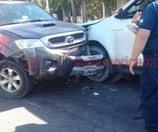 foto: Ministro de Salud se descompensó y chocó una camioneta