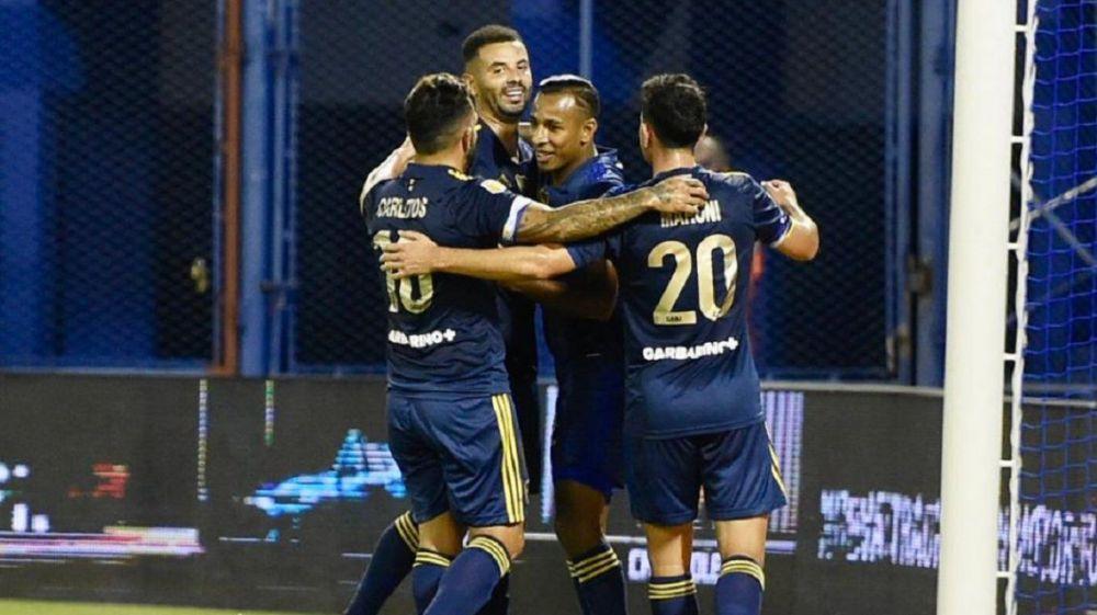 Boca goleó 7-1 a Vélez en Liniers y llega afilado al Superclásico