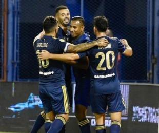 foto: Boca goleó 7-1 a Vélez en Liniers y llega afilado al Superclásico