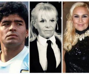 foto: Verónica Ojeda destacó la actitud de Claudia Villafañe en el velorio de Maradona