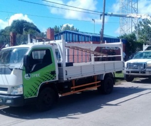 foto: La DPEC continúa con intensos trabajos de mejoras en Curuzú Cuatiá