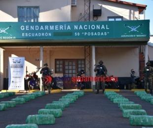 foto: Gendarmería secuestró cargamento de casi 3 toneladas de droga