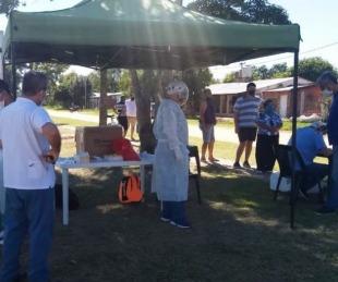 foto: Salud continúa con las acciones para cortar la cadena de transmisión en Ituzaingó