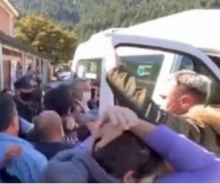 foto: Hay seis detenidos por el ataque a Alberto Fernández en Chubut