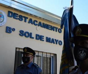 foto: Inauguraron refacciones en el Destacamento del B° Sol de Mayo