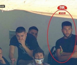 foto: El hijo de Riquelme viajó a Cancún junto a los alumnos contagiados