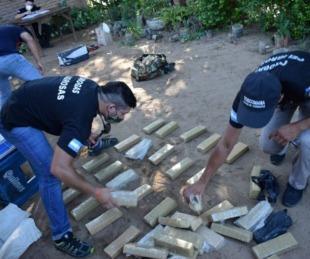 foto: Buscaban al hermano de Morenita Marín y hallaron 126 kilos de droga