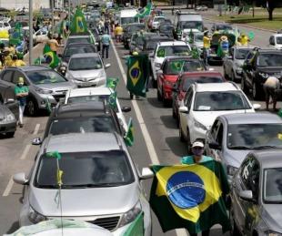 foto: Brasil: hubo marchas en honor a Bolsonaro con récord de muertes