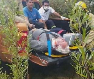 foto: Una pareja de jubilados que paseaba en Córdoba cayó desde la aerosilla