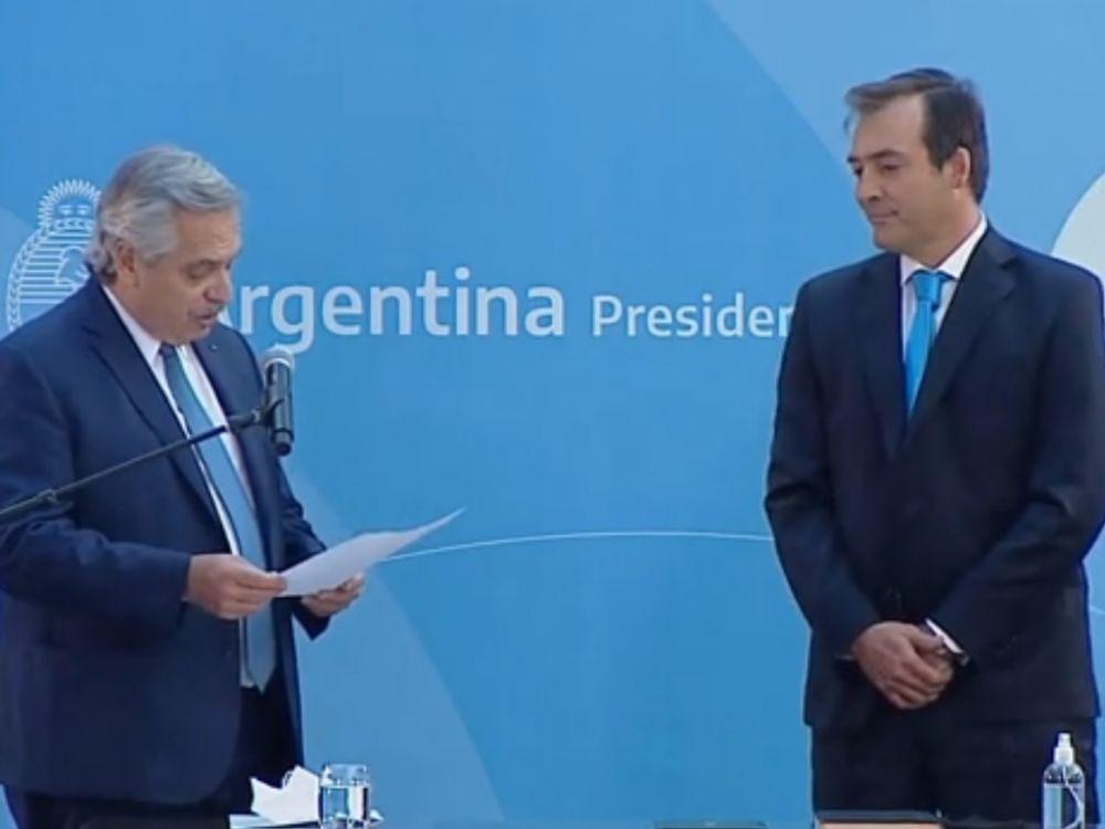 Martín Soria juró como nuevo ministro de Justicia