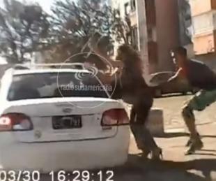 foto: Tras quedar filmado, detienen al delincuente que atacó a una mujer