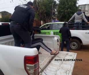foto: Detuvieron a dos menores por el crimen de un joven en Libres