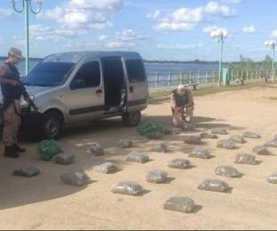 foto: Incautaron 35 kilos de marihuana valuados en más de $4.000.000
