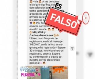 Una cuenta falsa intentó estafar a seguidores de Sudamericana