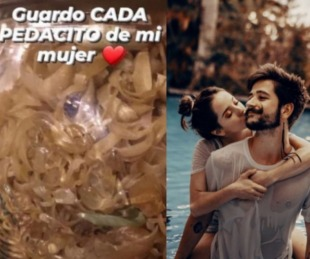 foto: Tendencia en redes: ¿Camilo guarda las uñas de Evaluna en un frasco?