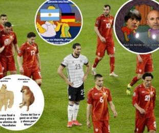 foto: Los mejores memes de la gran derrota de Alemania frente a Macedonia