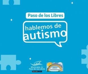 foto: PASO DE LOS LIBRES: Jornada de concientización sobre el autismo