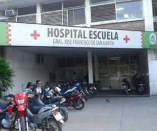 foto: Un joven resultó gravemente herido luego de chocar con su moto