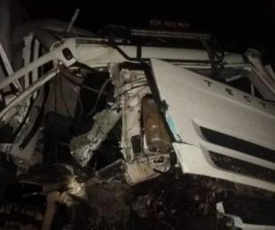 foto: Camionero entrerriano murió tras un choque en Curuzú Cuatiá